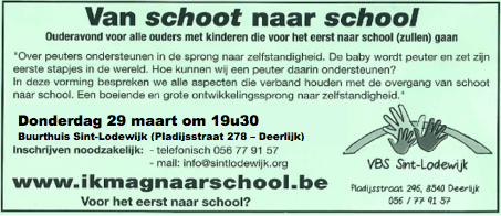 School naar school 2018